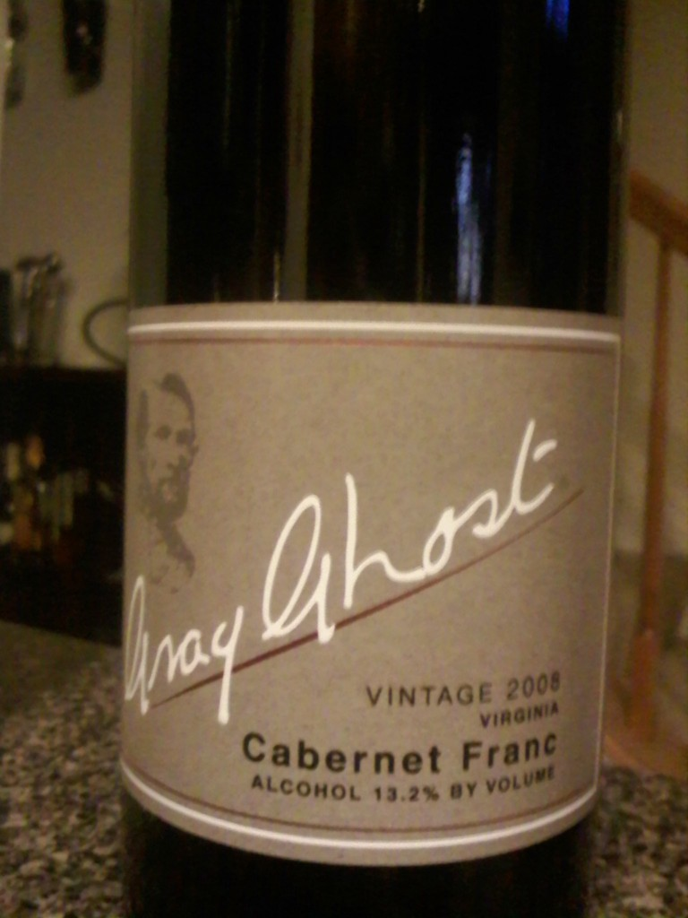 Gray Ghost Cabernet Franc