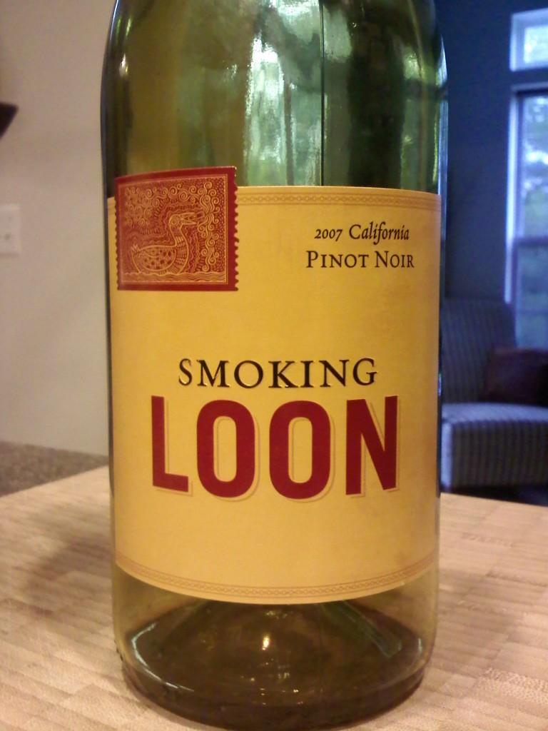 Smoking Loon Pinot Noir