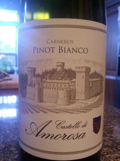 Castello di Amorosa Pinot Bianco