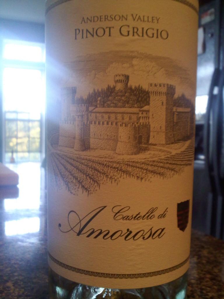 Castello di Amorosa Pinot Grigio