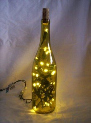 Craft Ideas Glass Bottles on Wine Bottle Lamp Jpg