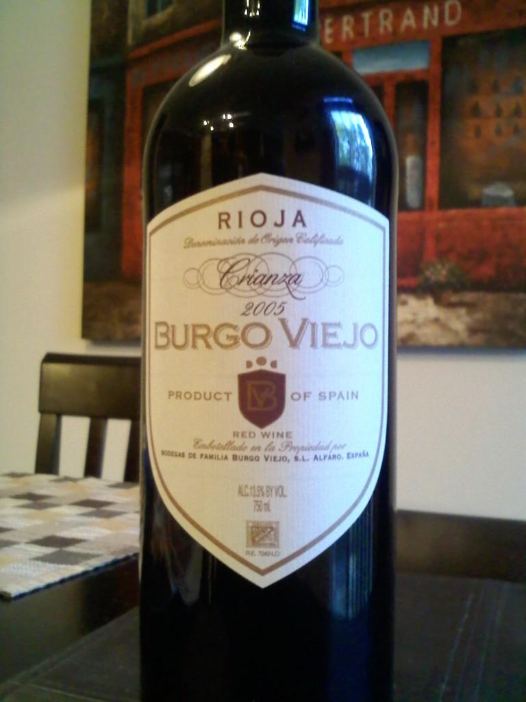 Burgo Viejo Crianza Rioja 2005