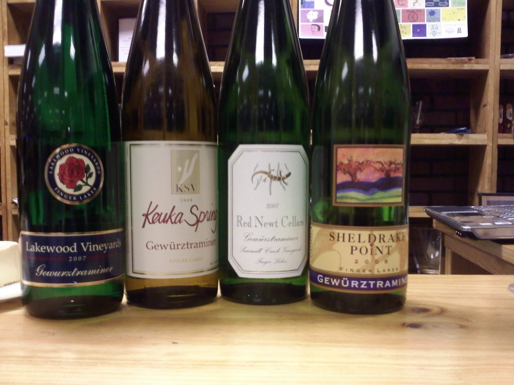 Finger Lakes Guwurztraminer