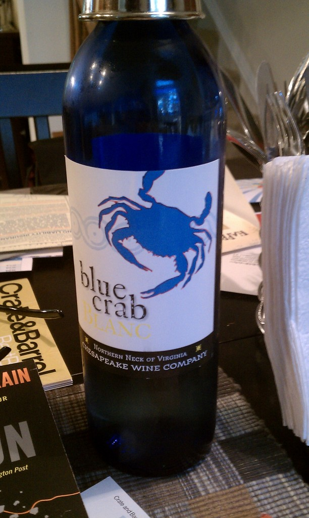 Ingleside Vineyards Blue Crab Blanc
