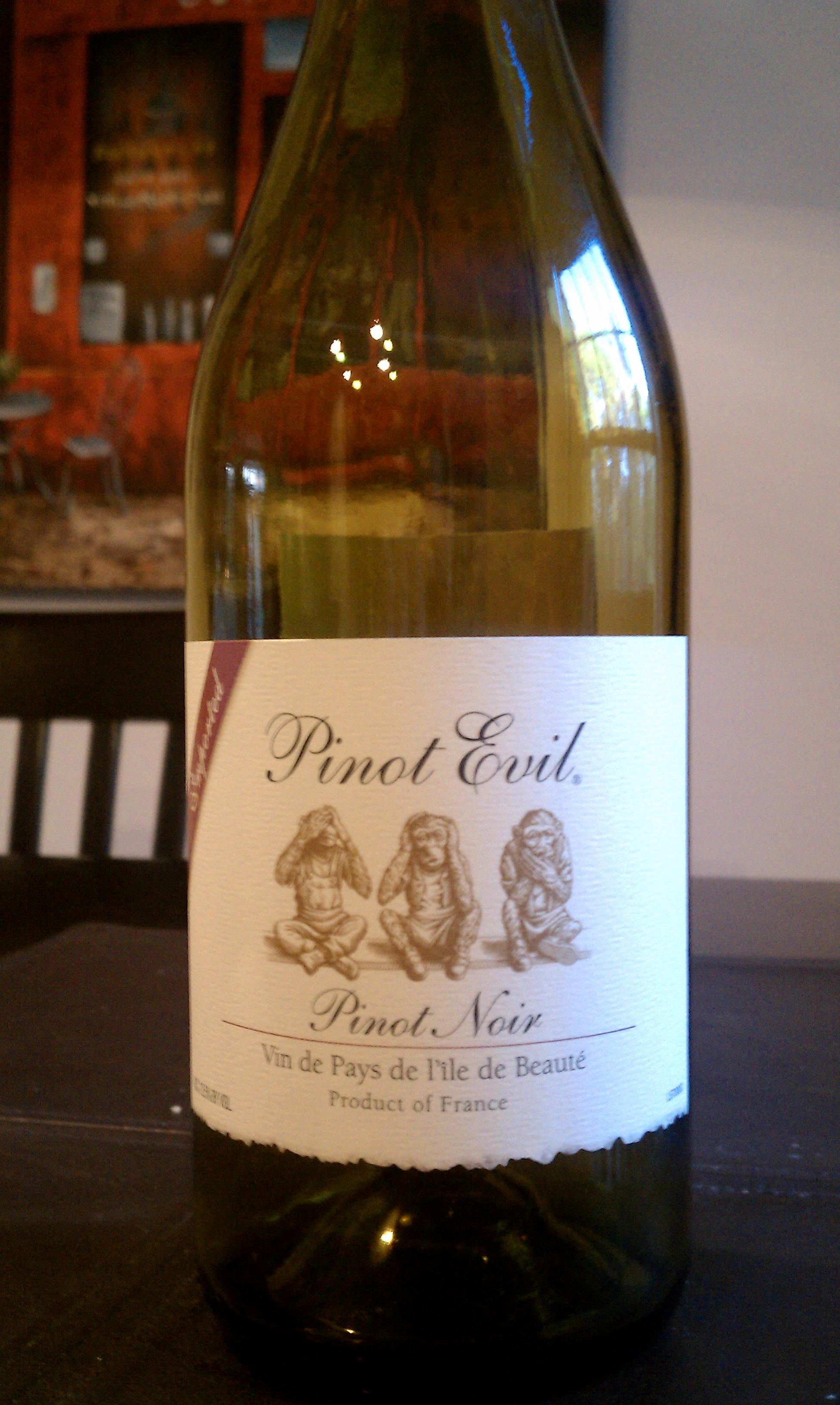 Pinot Evil Pinot Noir