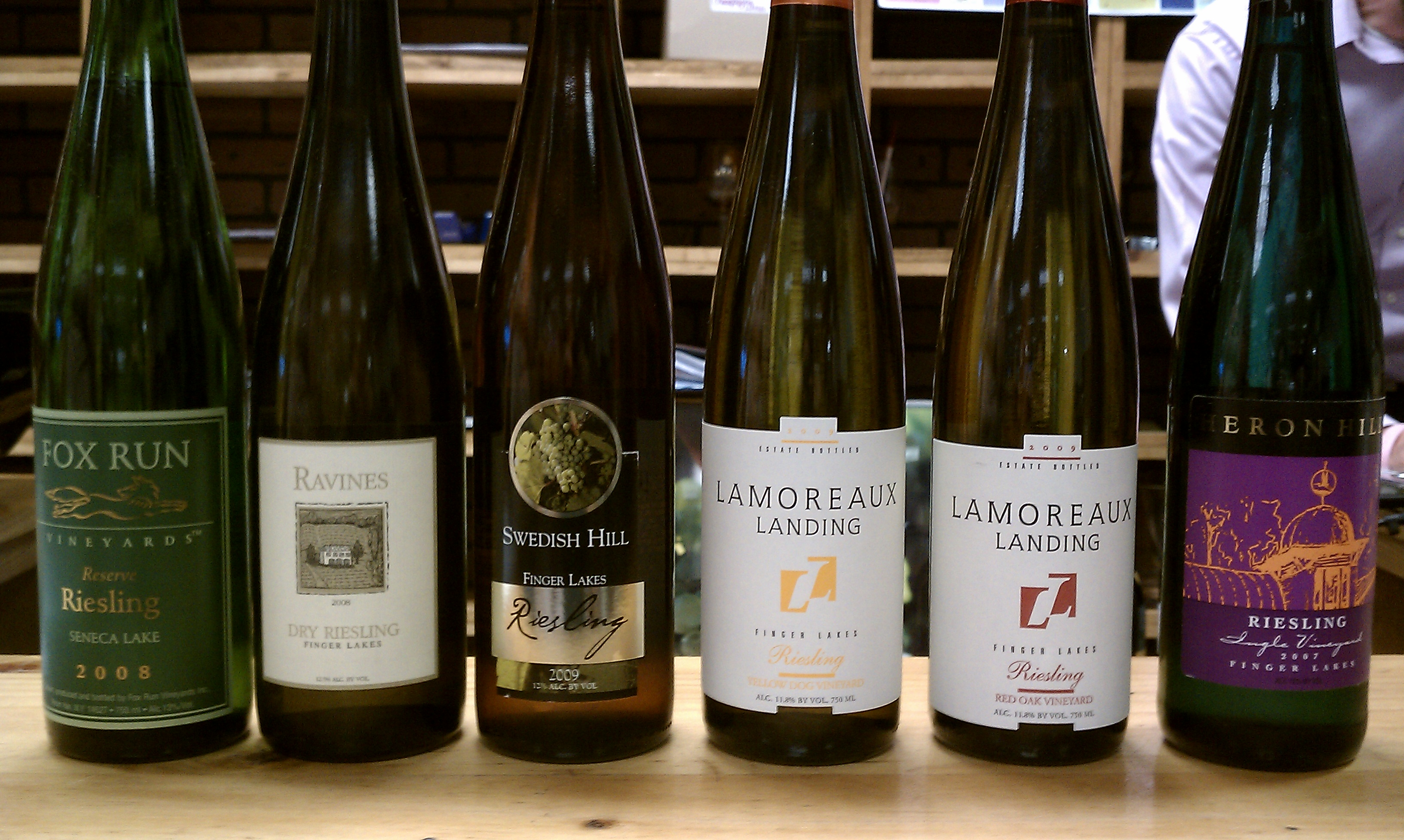 Finger Lakes Riesling