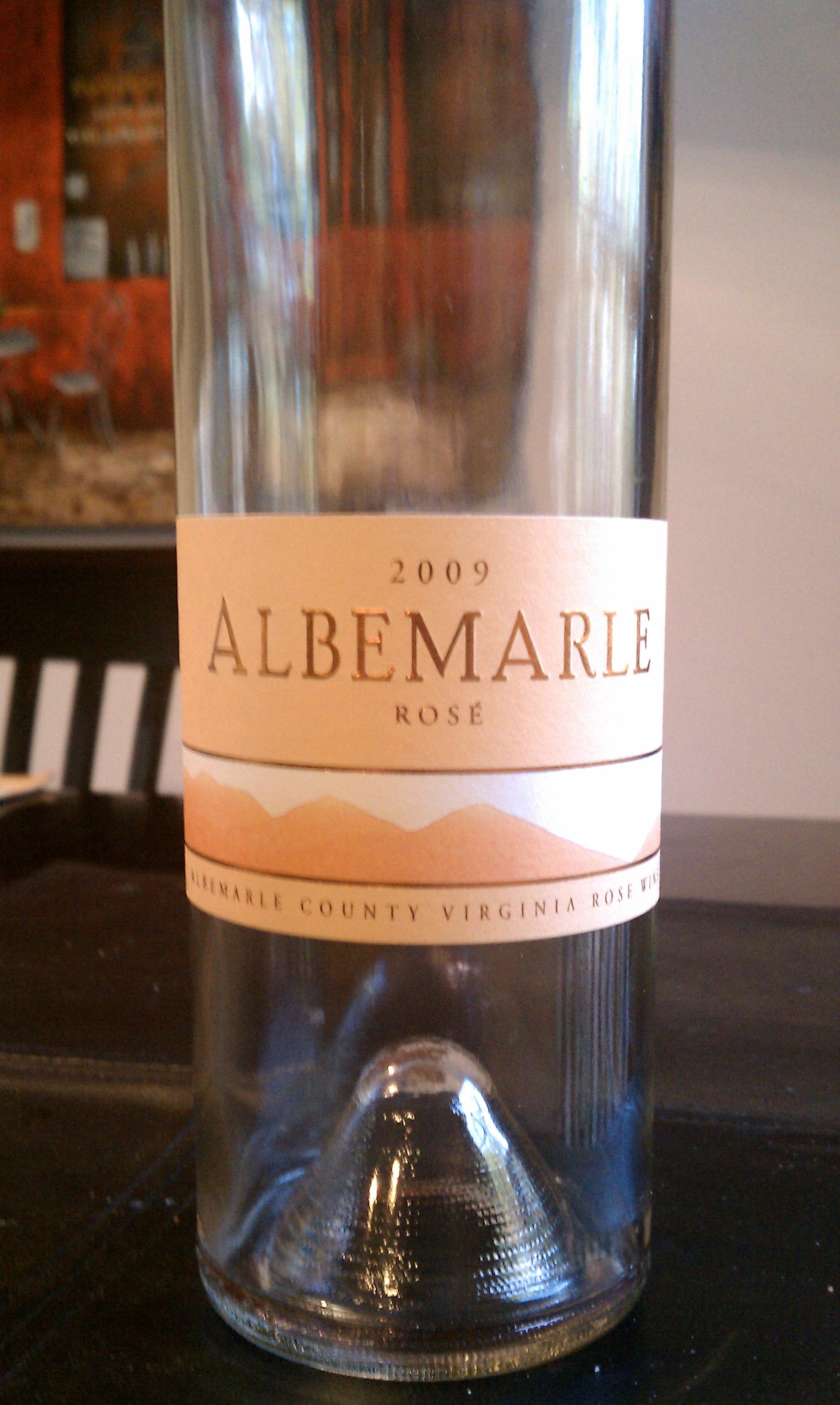 2009 Albemarle Rose'