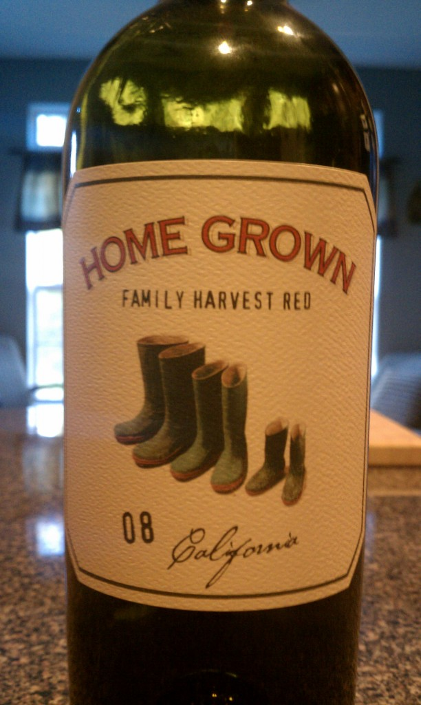 2008 Home Grown Farms Family Harvest Red