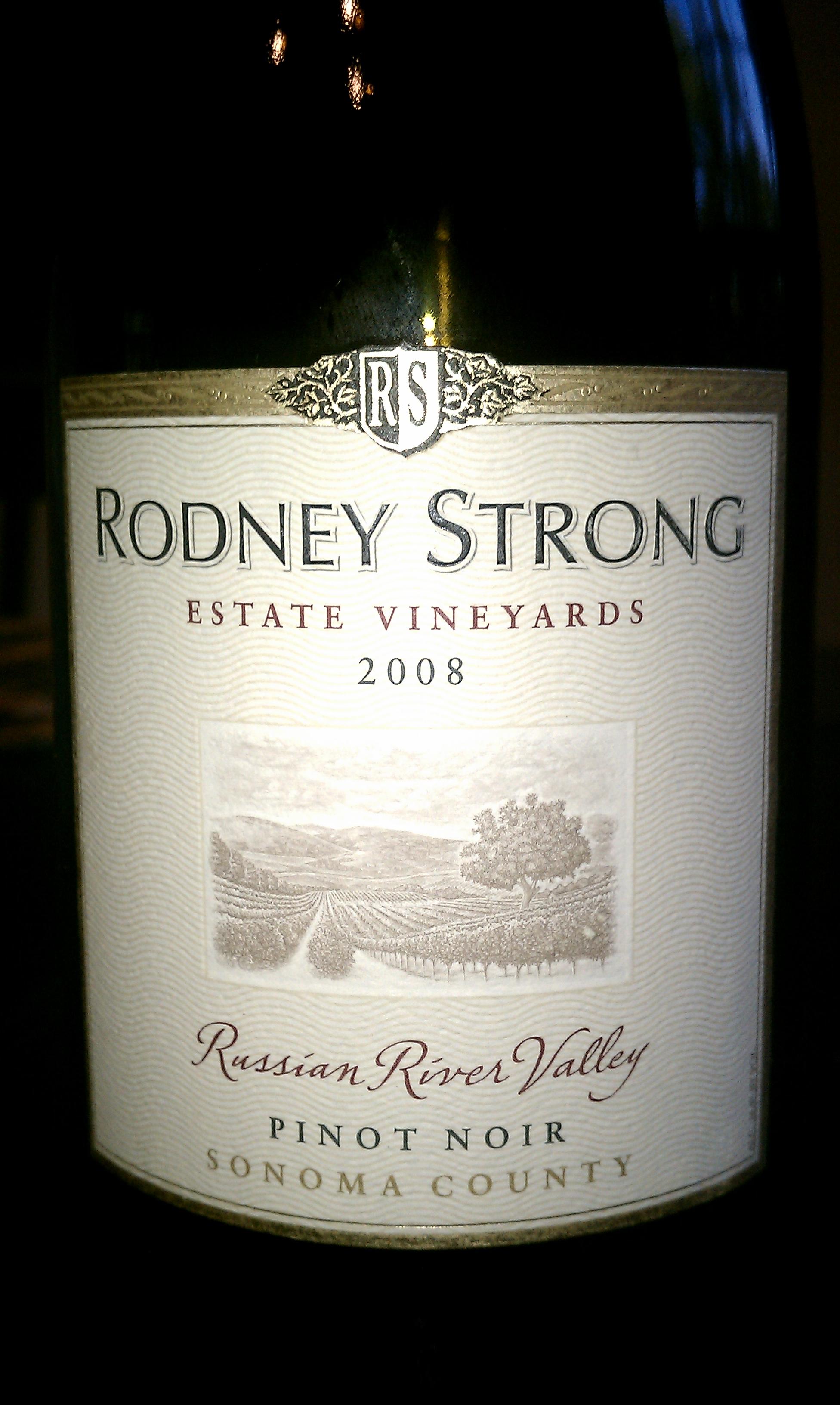 2008 Rodney Strong Pinot Noir