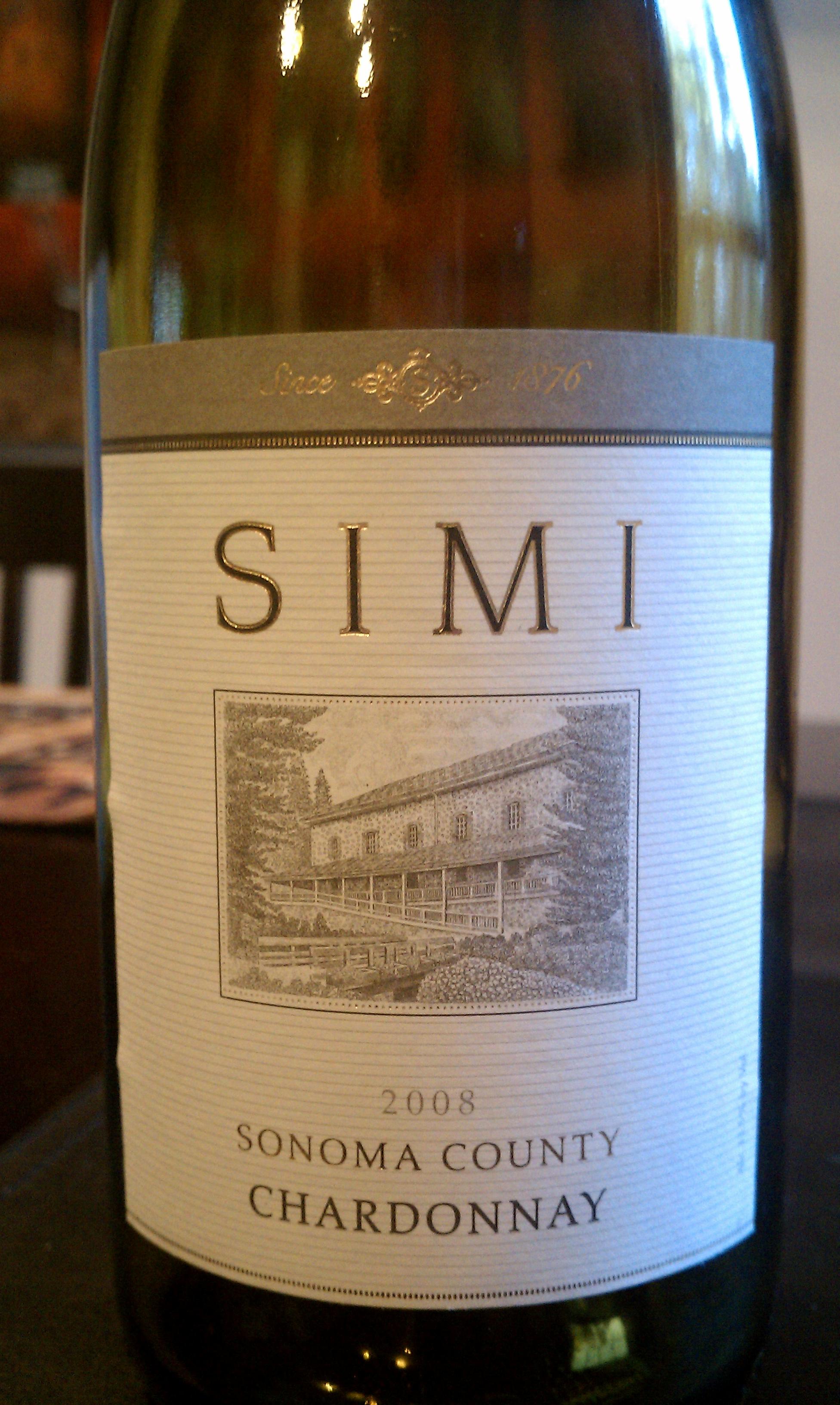 2008 Simi Chardonnay