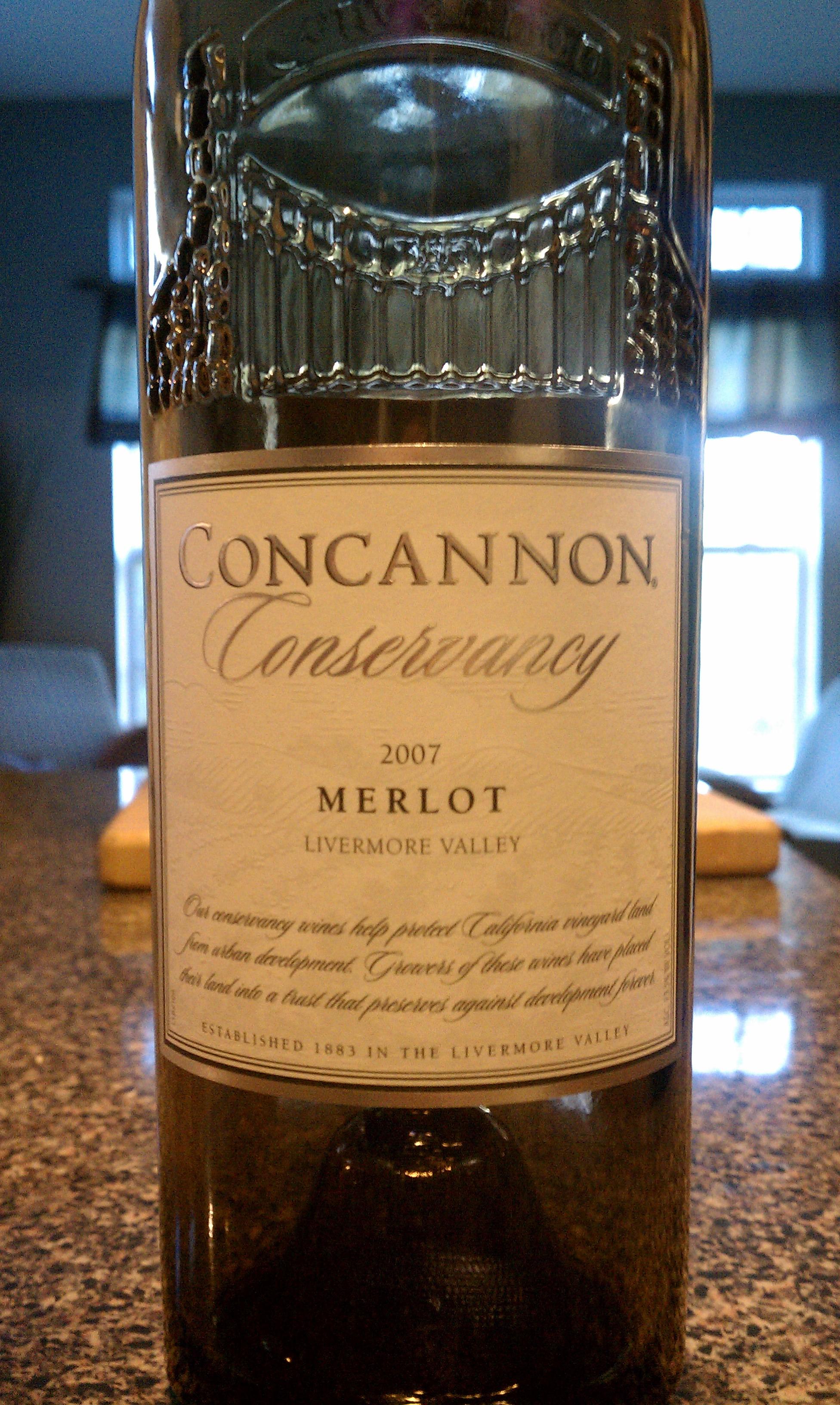 2007 Concannon Conservancy Merlot