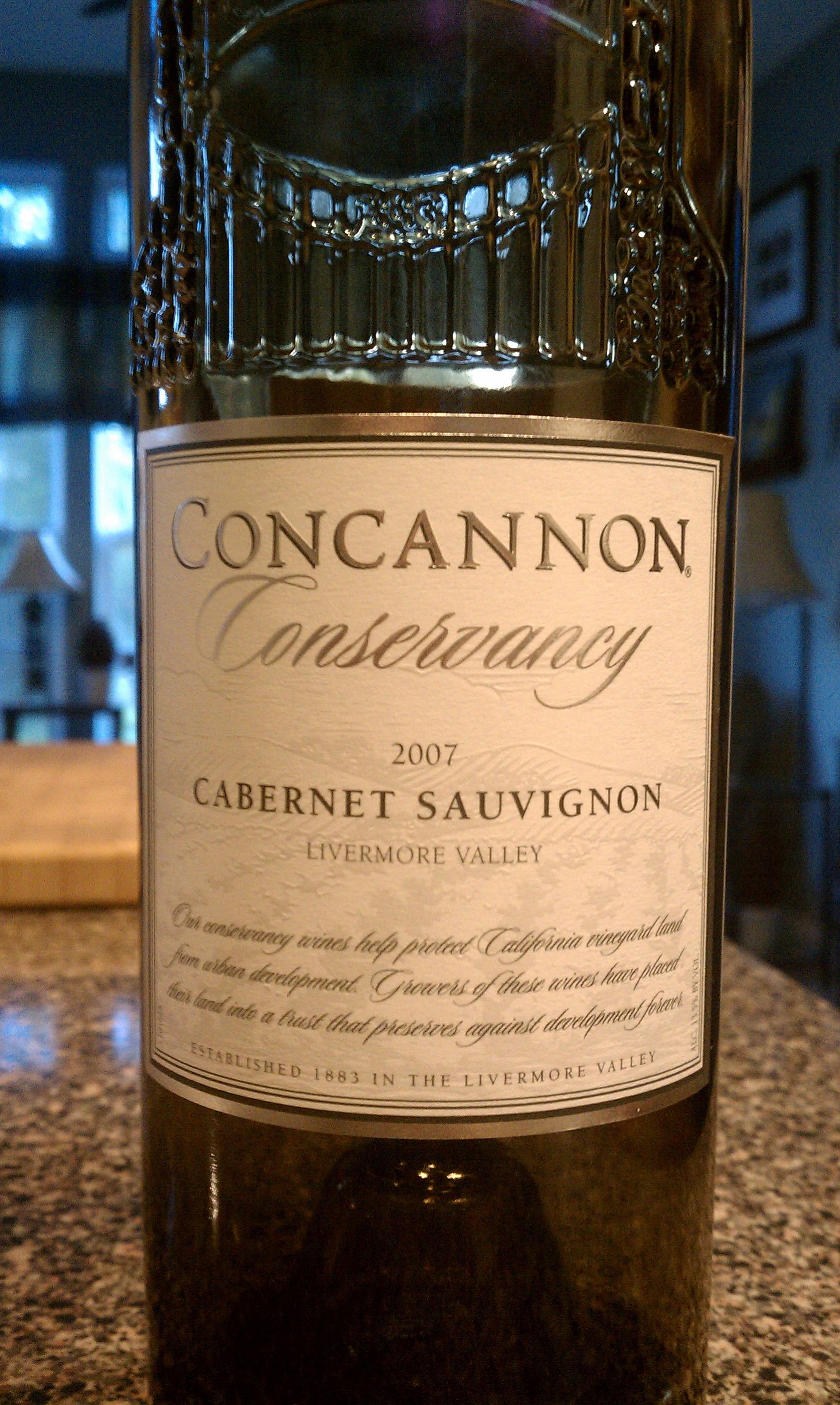 2007 Concannon Conservancy Cabernet Sauvignon