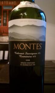 2008 Montes Cabernet Sauvignon Carmenere