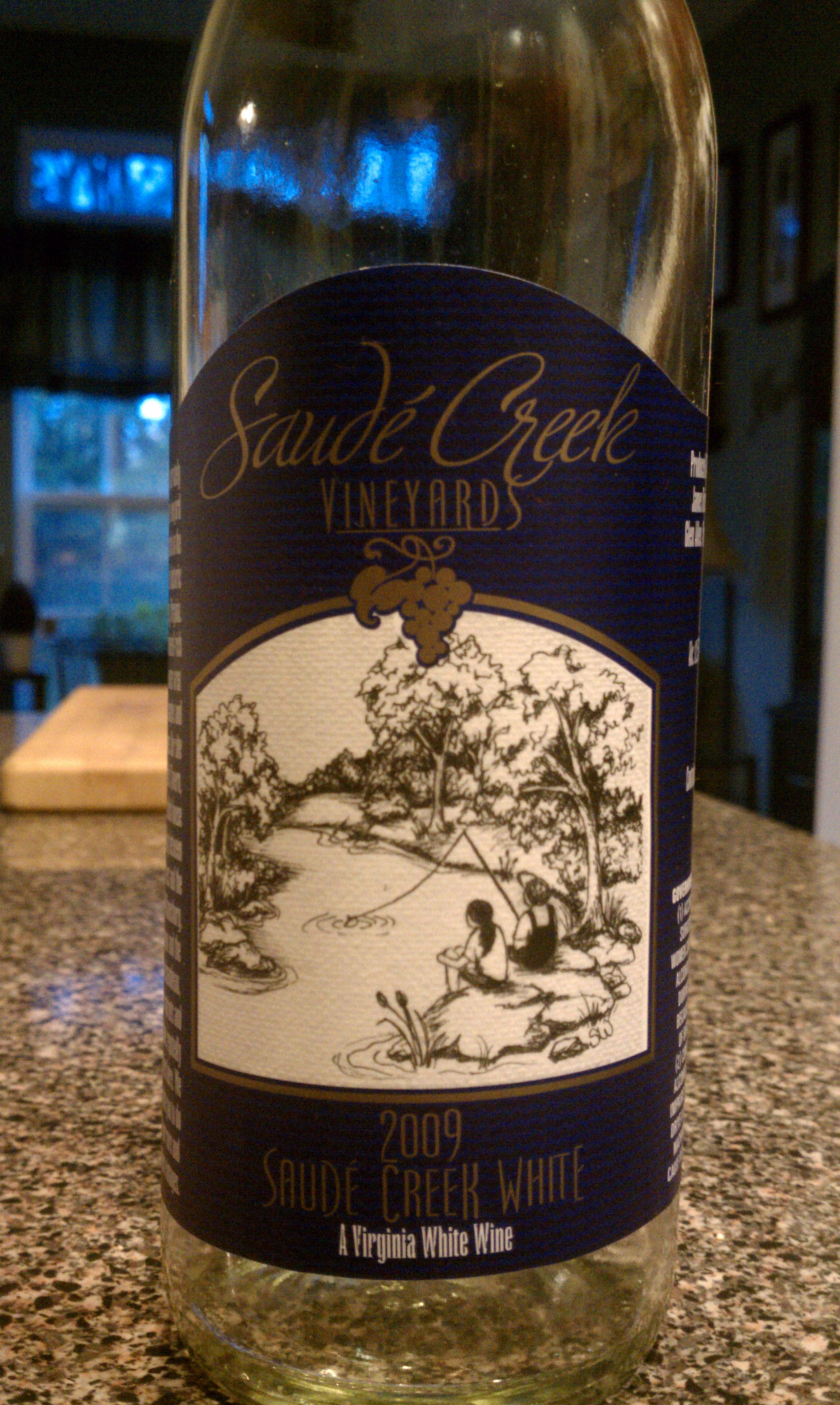 2009 Saude Creek White Wine