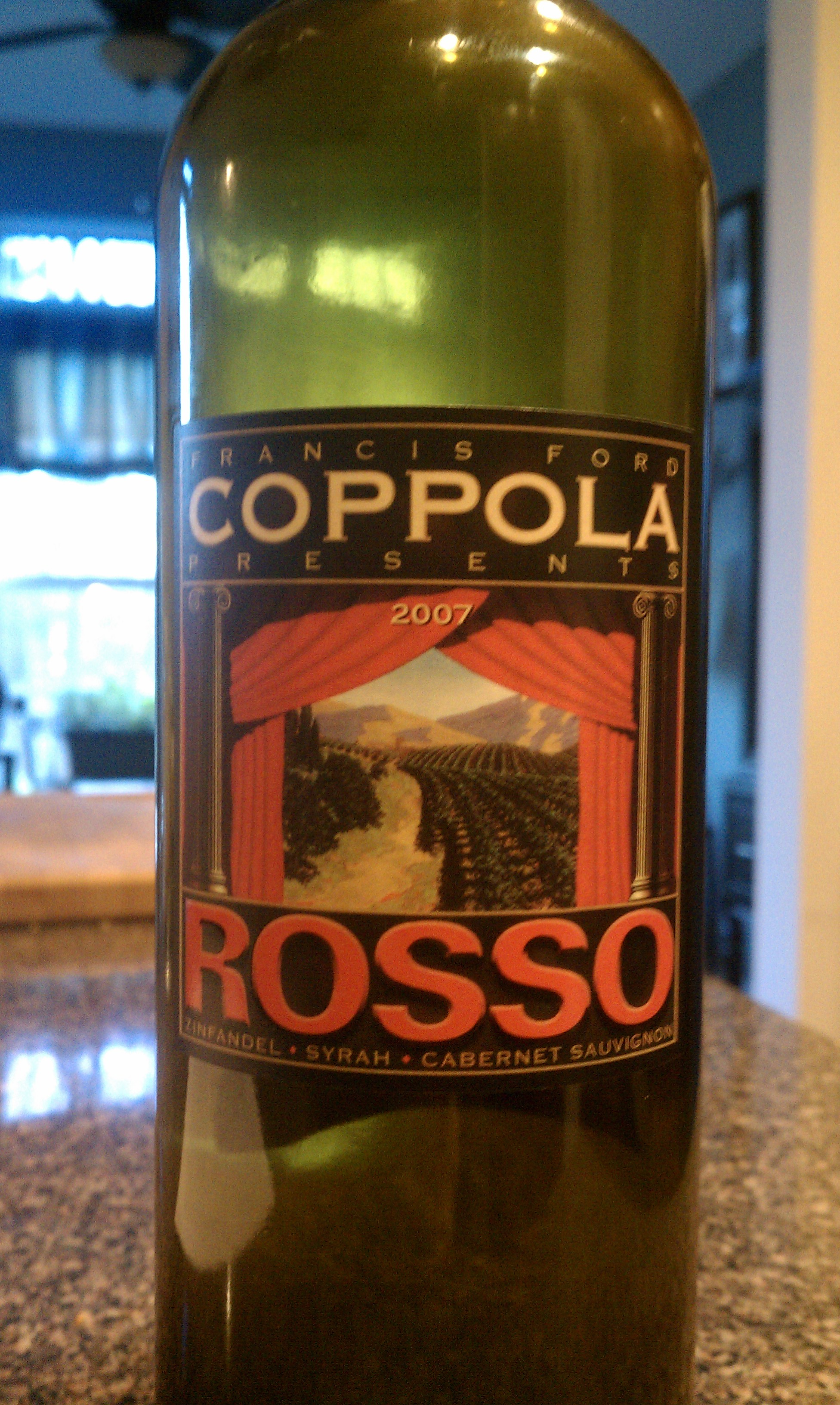 2007 Francis Ford Coppola Rosso
