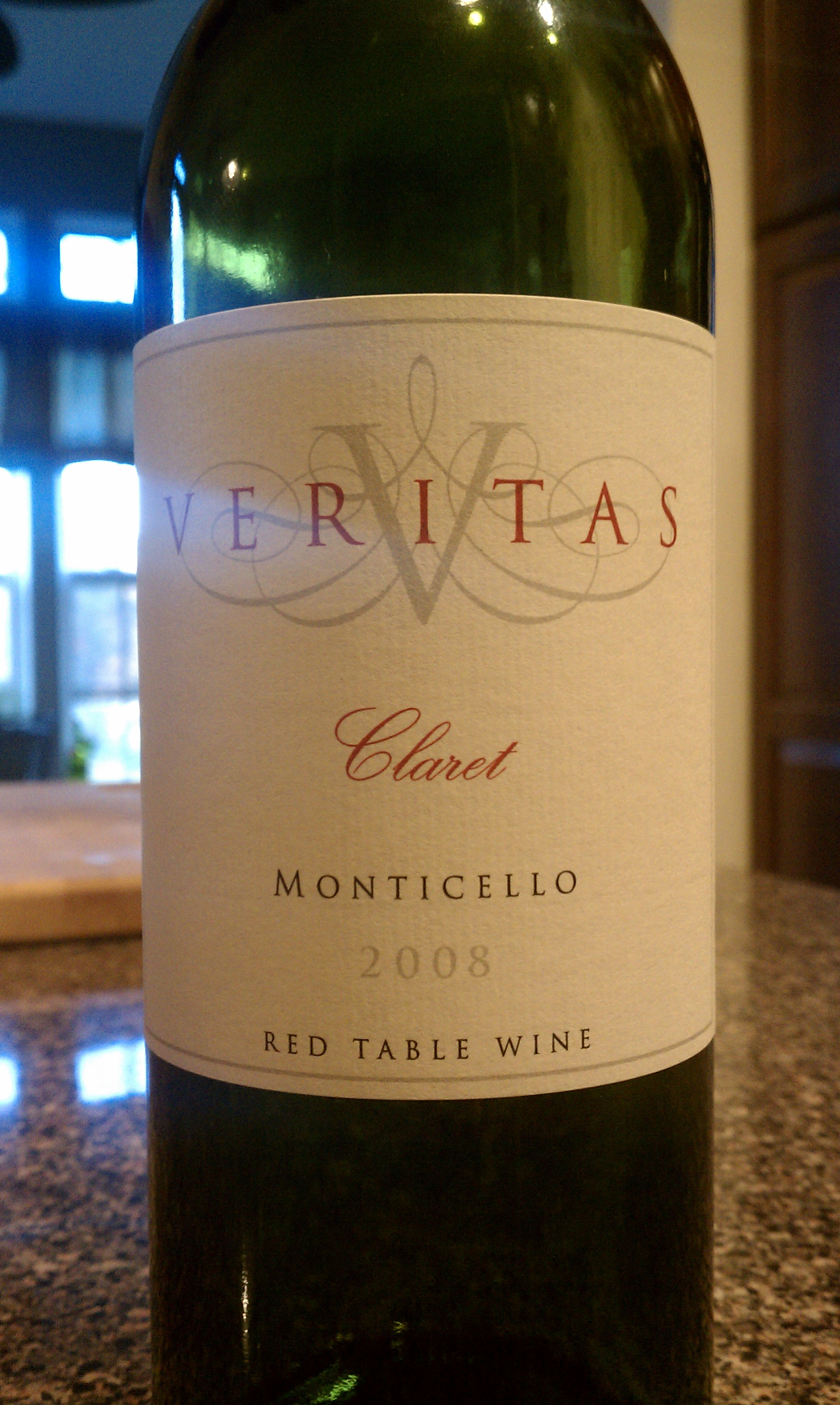 2008 Veritas Vineyards Claret