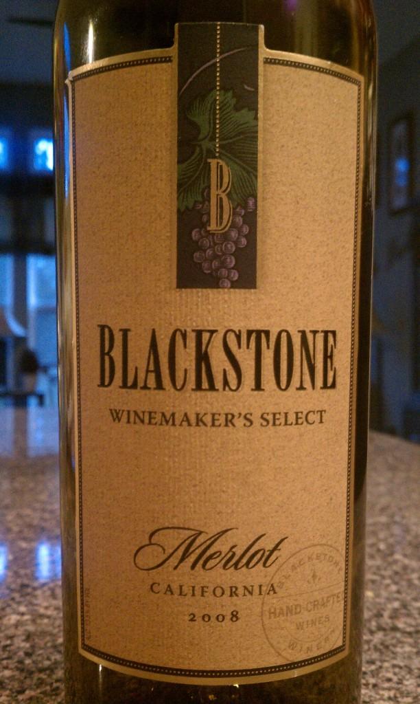 2008 Blackstone Merlot