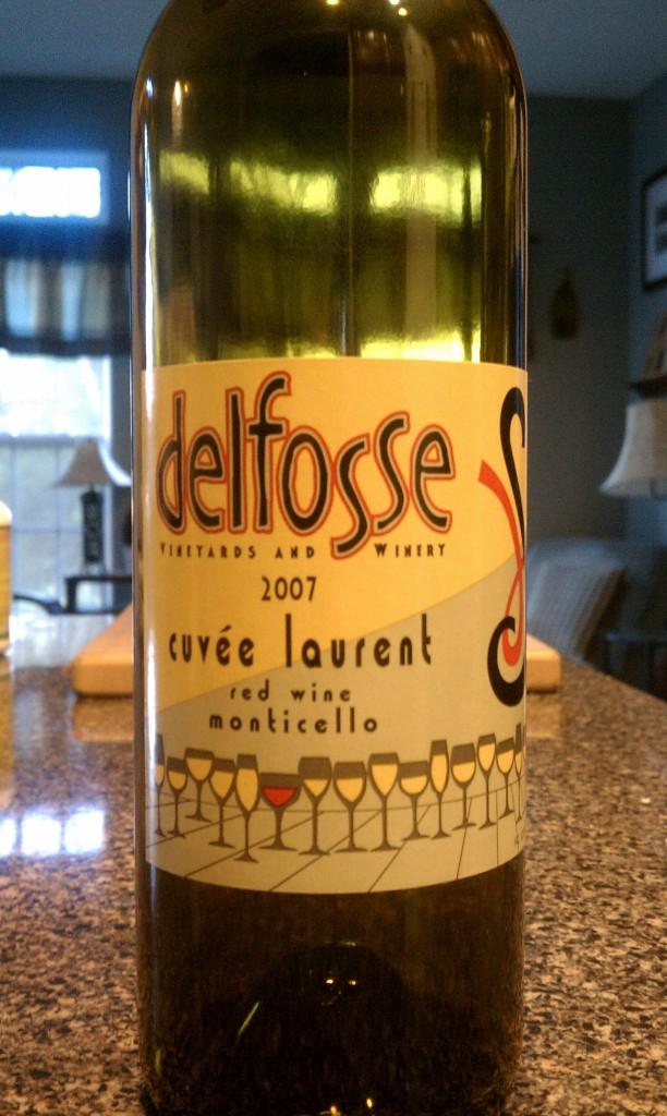 2007 Delfosse Cuvee Laurent