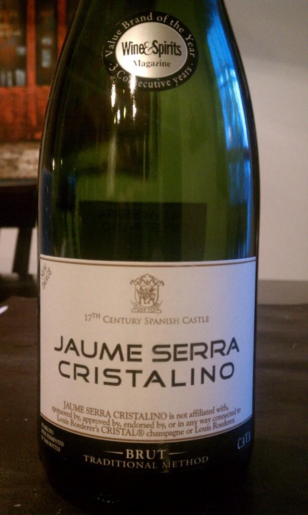 Jaume Serra Cristalino Brut Cava