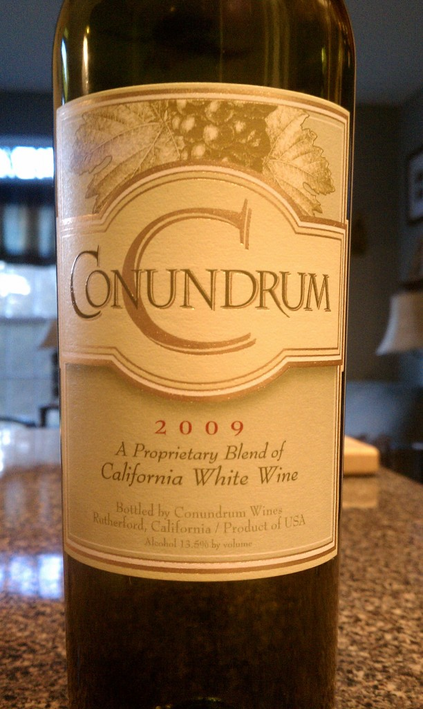 2009 Conundrum California White Table Wine