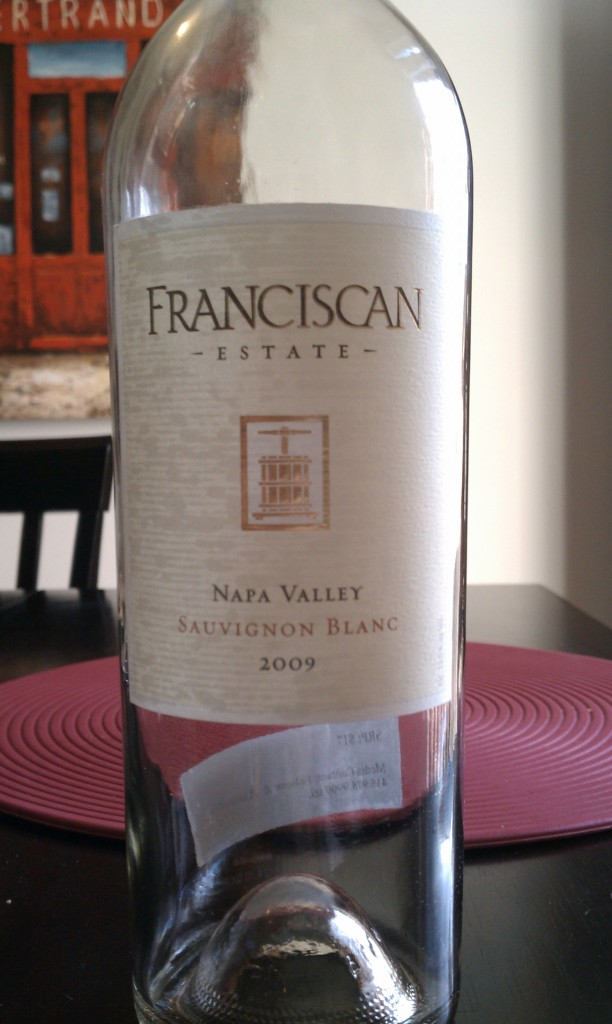 2009 Franciscan Estate Sauvignon Blanc