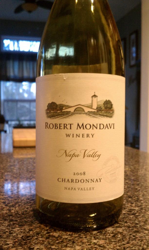 2008 Robert Mondavi Chardonnay