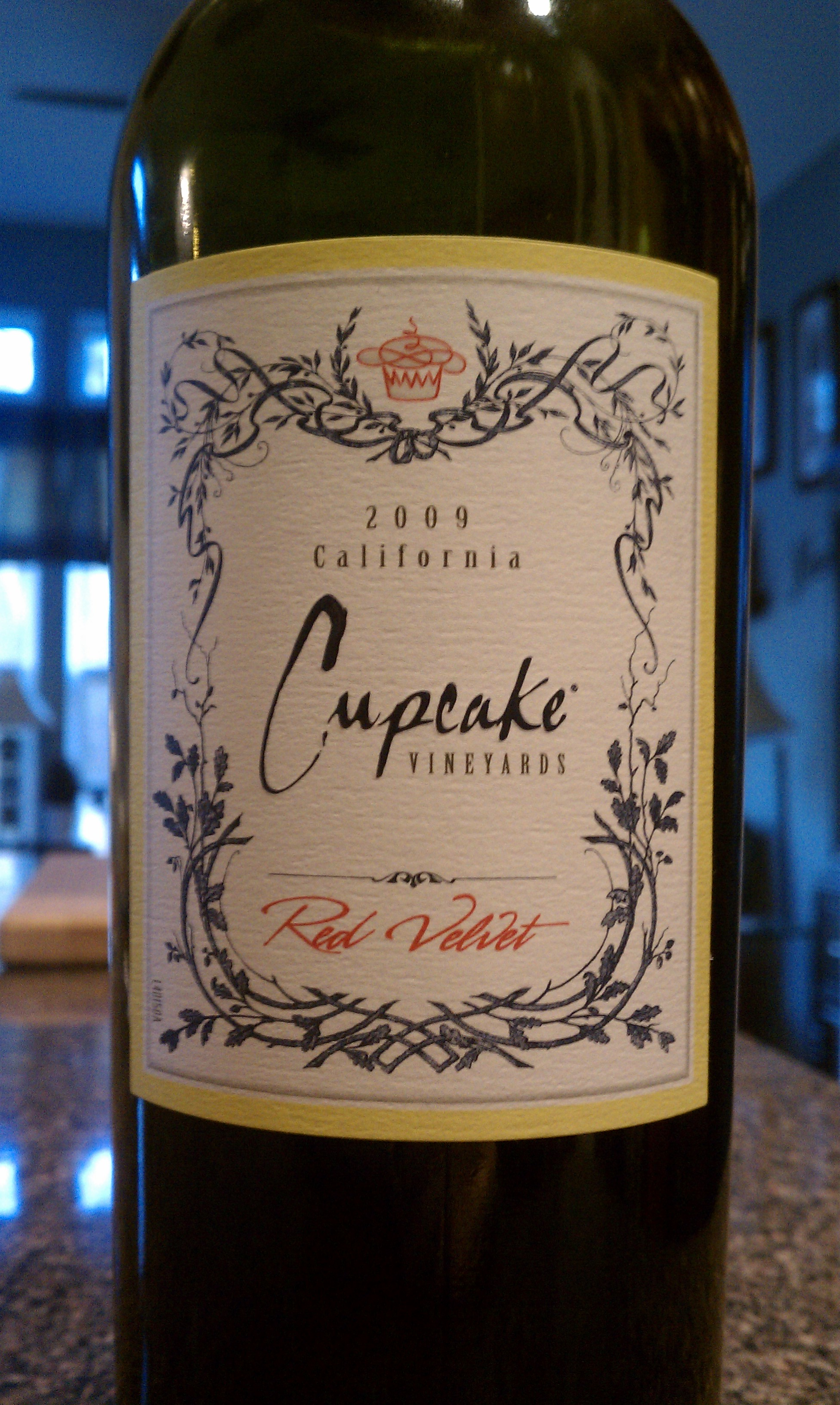 2009 Cupcake Vineyards Red Velvet | Zinfandel | Merlot | Cabernet ...