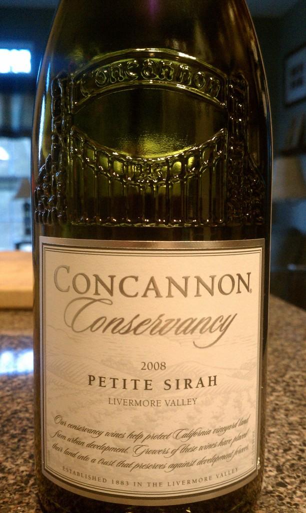 2008 Concannon Conservancy Petite Sirah