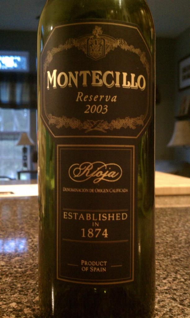 2003 Montecillo Rioja Reserva