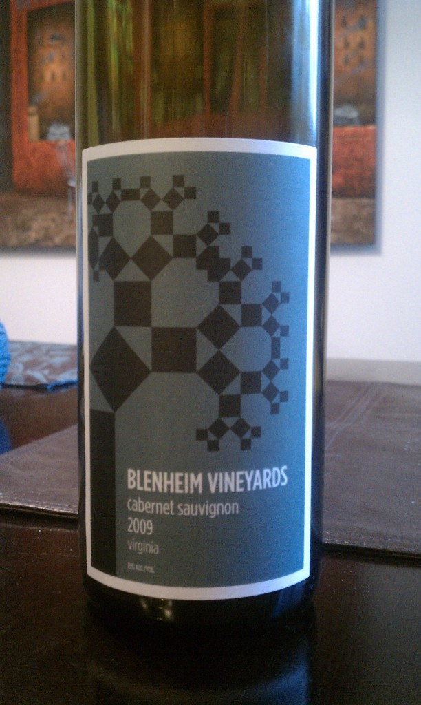2009 Blenheim Vineyards Cabernet Sauvignon