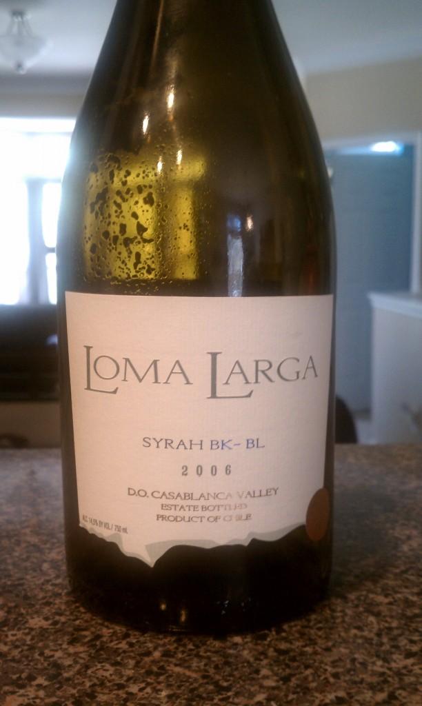 2006 Loma Larga Syrah