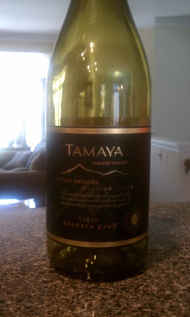 2009 Tamaya Syrah Reserva