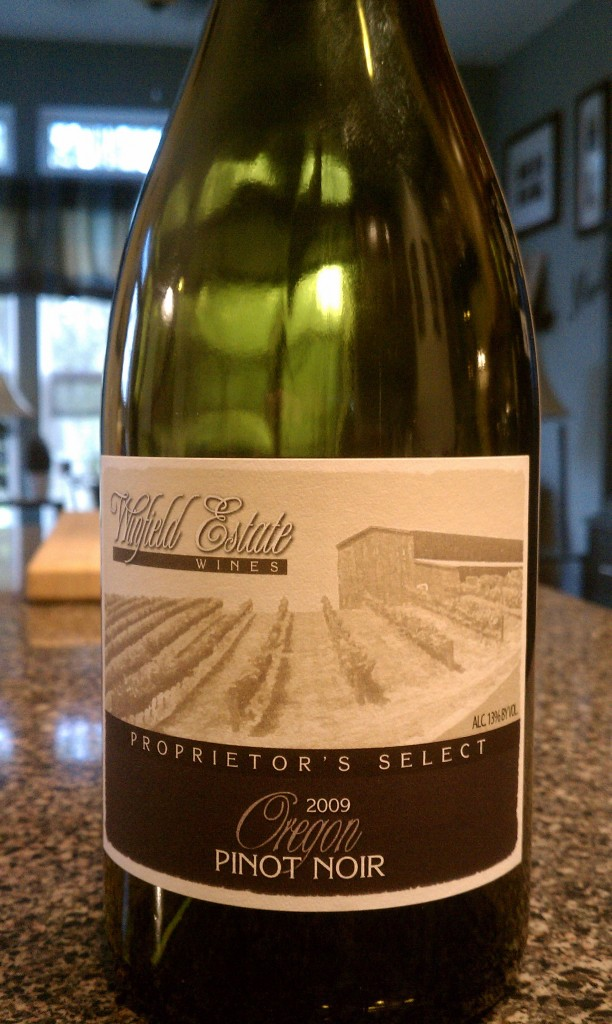2009 Winfield Estate Proprietor's Select Pinot Noir