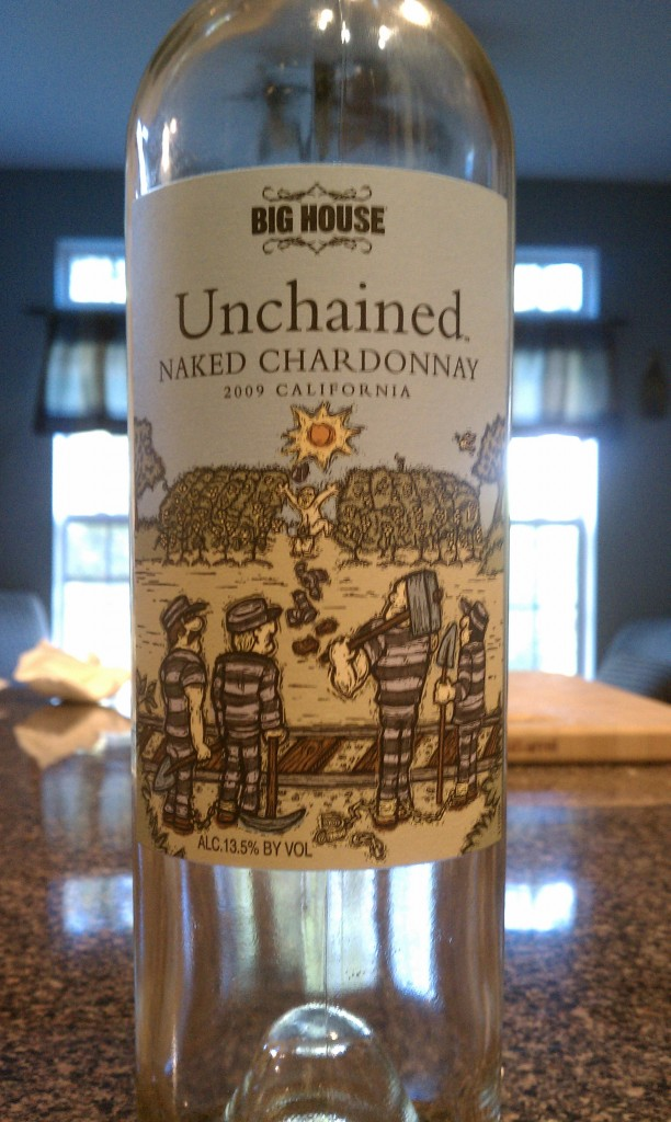 2009 Big House Unchained Naked Chardonnay