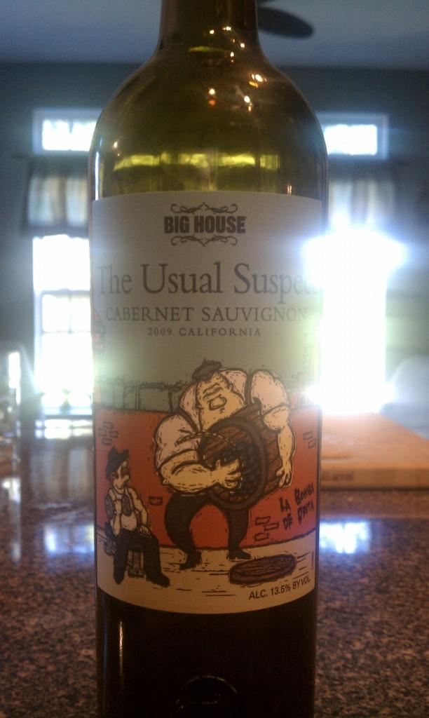 2009 Big House The Usual Suspect Cabernet Sauvignon