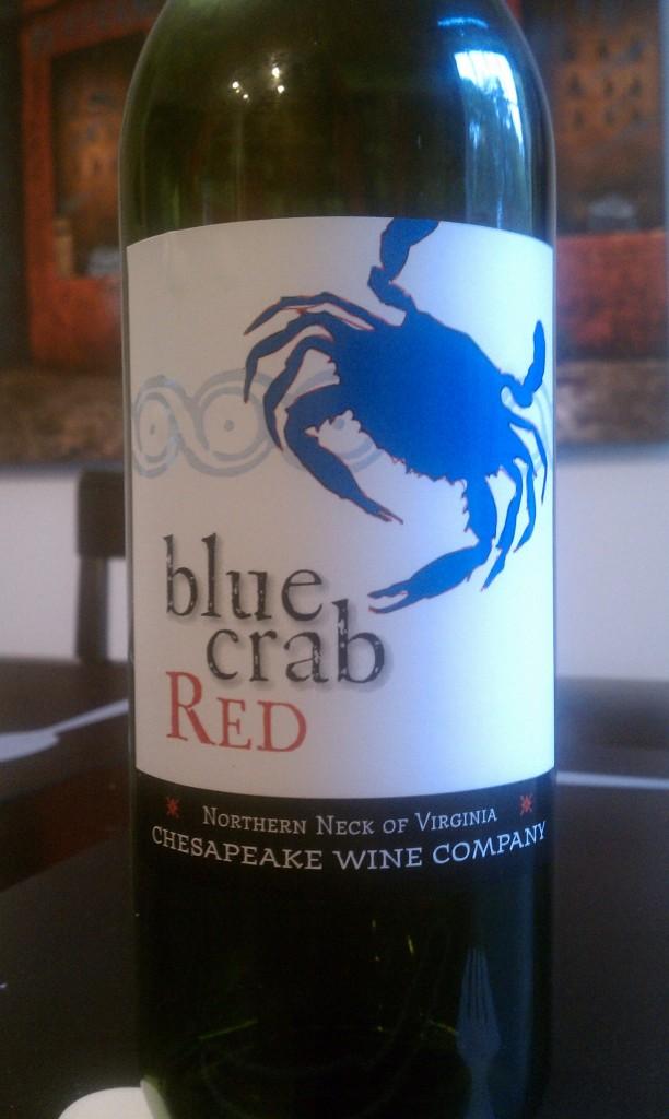 Ingleside Vineyards Blue Crab Red