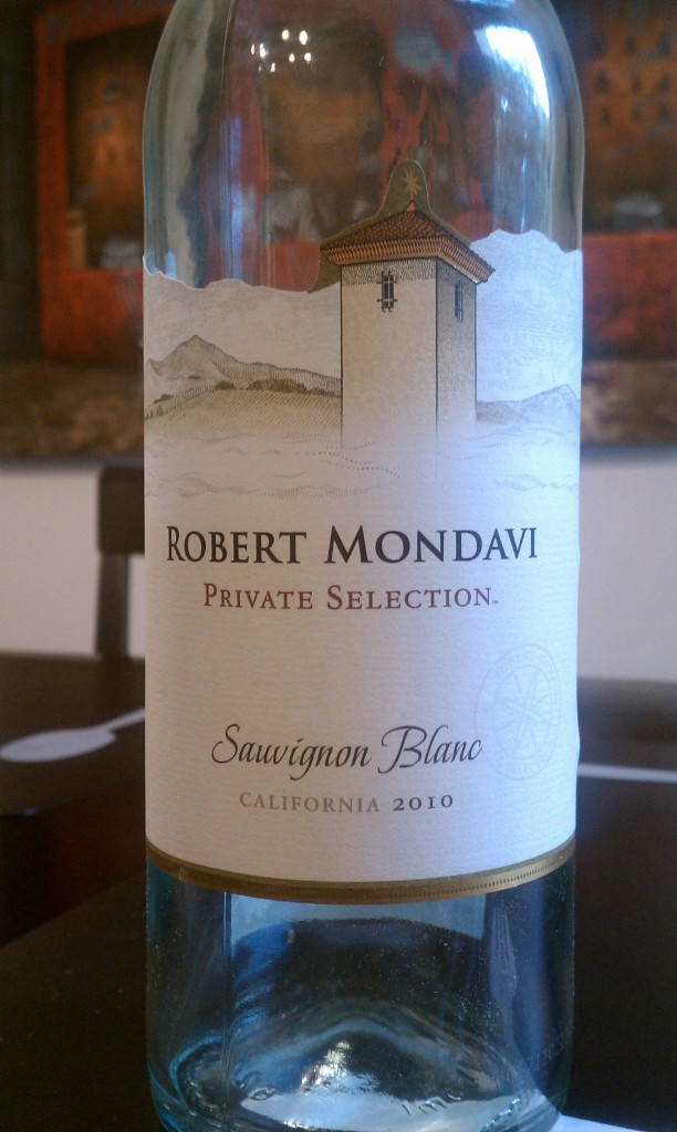 2010 Robert Mondavi Private Selection Sauvignon Blanc