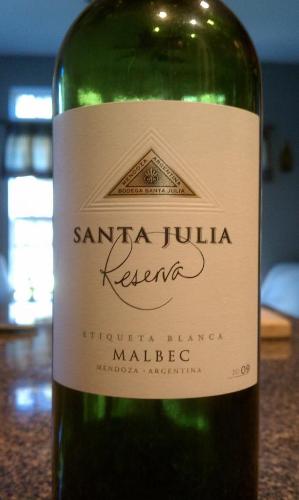 2009 Santa Julia Reserva Malbec