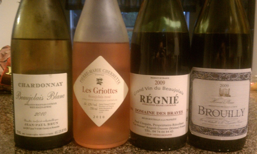 Beaujolais and BBQ Tasting