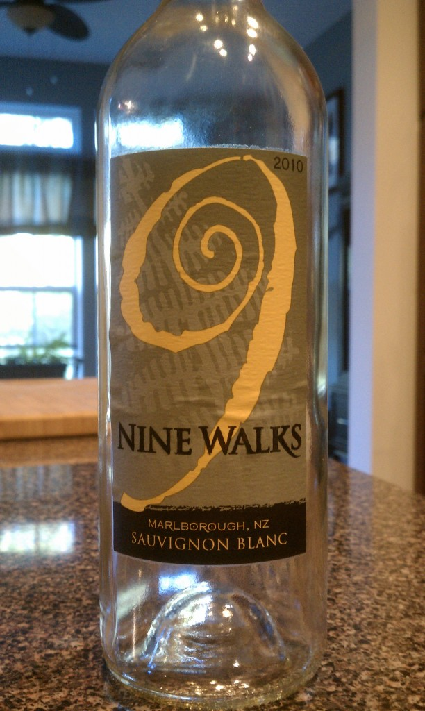 2010 Nine Walks Sauvignon Blanc