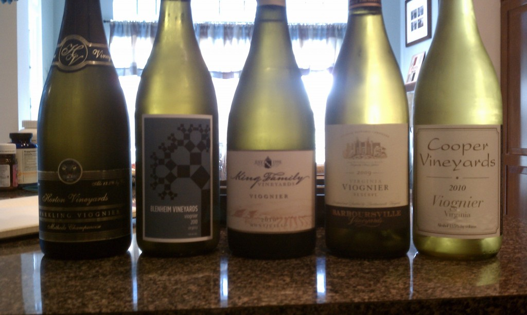 Virginia Viognier Tasting