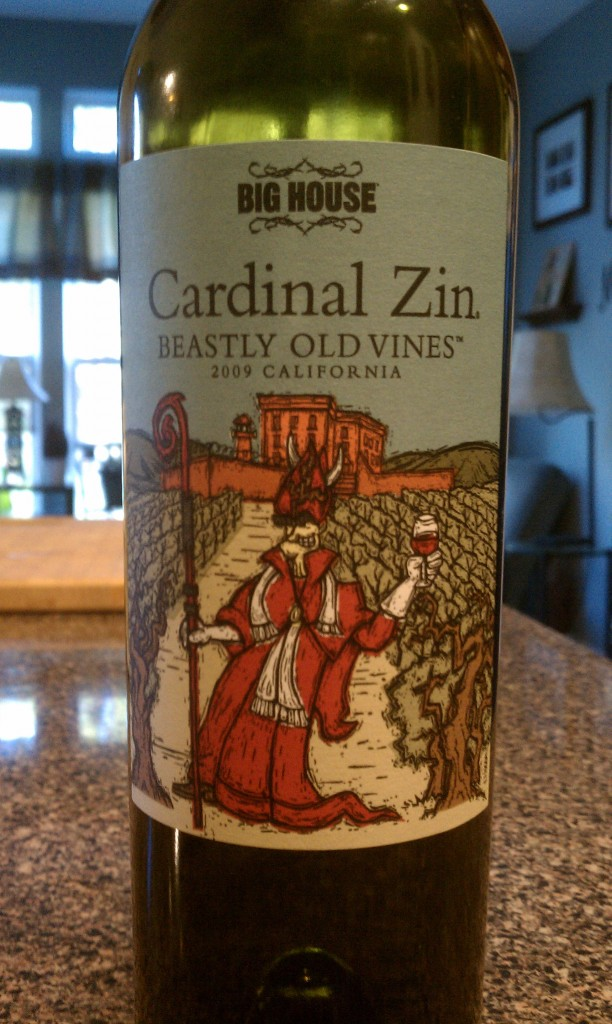2009 Big House Cardinal Zin