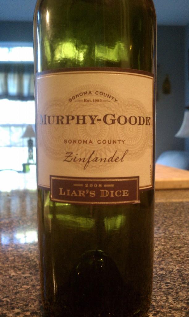 2008 Murphy-Goode Liar's Dice Zinfandel