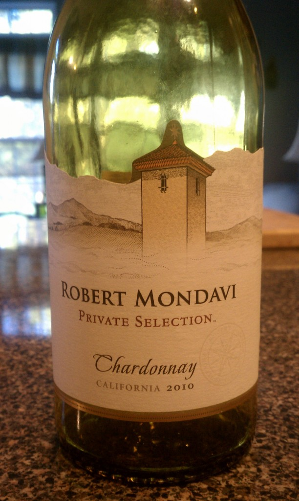 2010 Robert Mondavi Private Selection Chardonnay