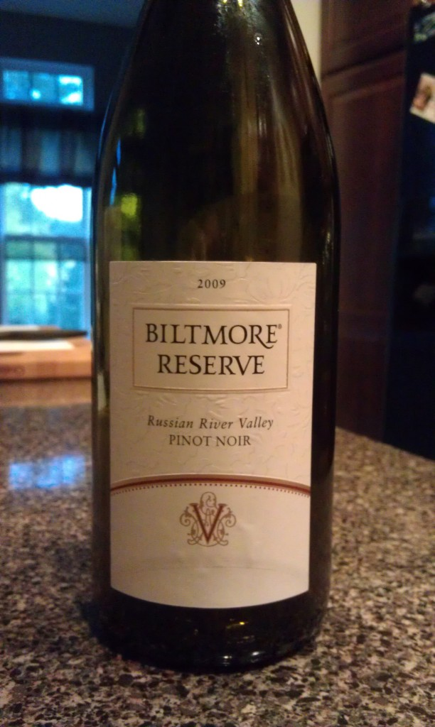 2009 Biltmore Reserve Pinot Noir