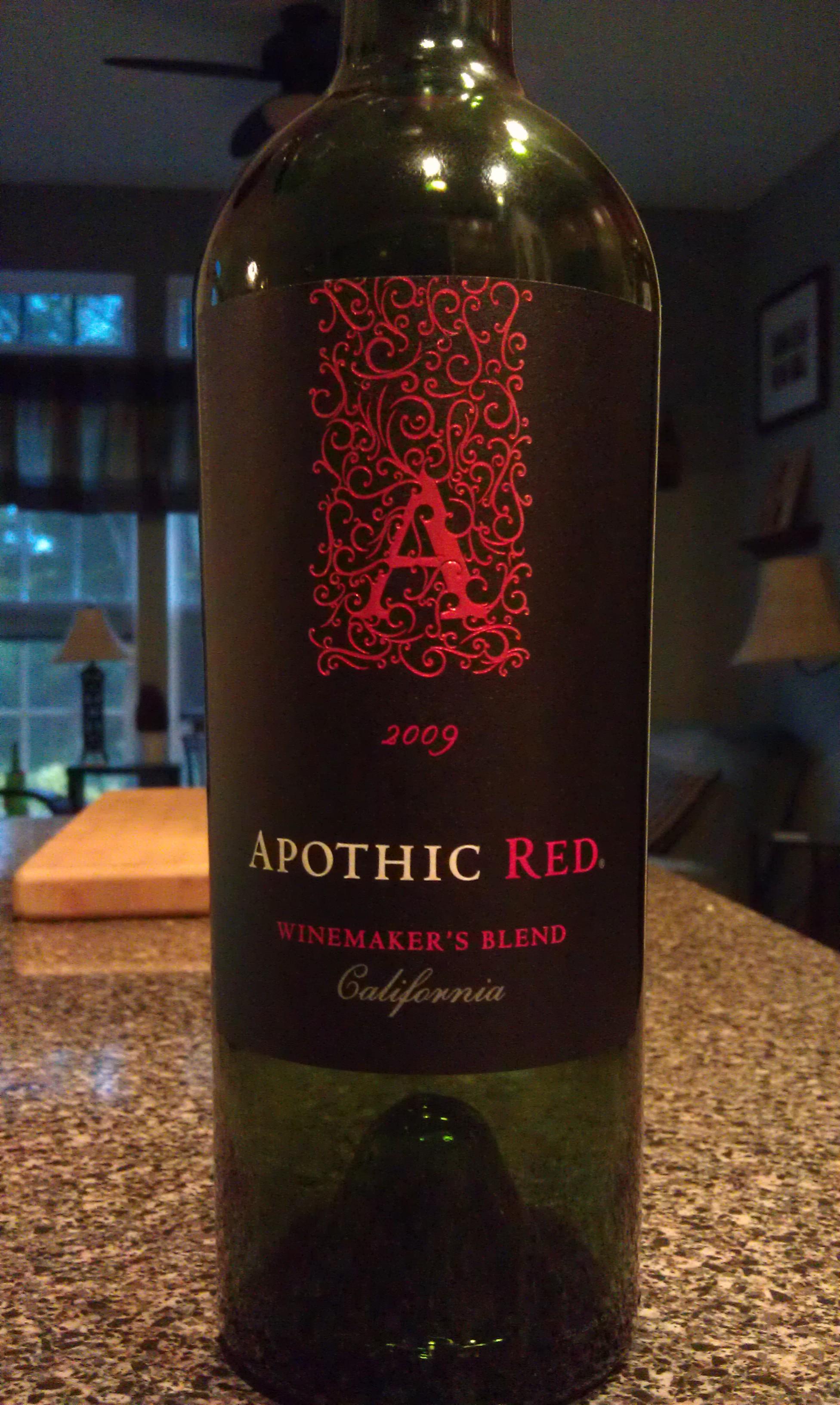 Apothic Red 2009 The Good Wine Guruthe Good Wine Guru