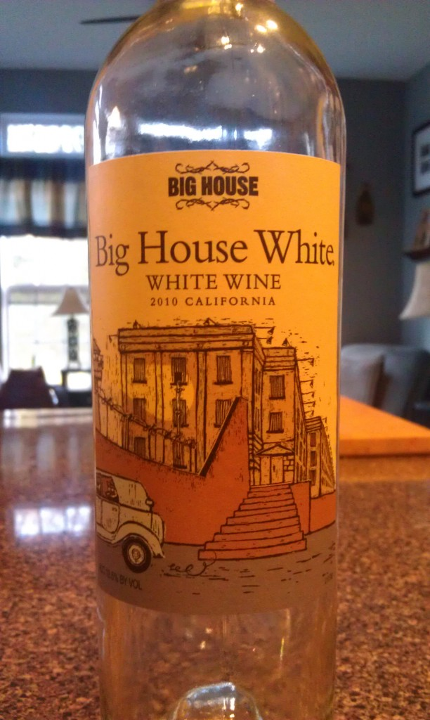 2010 Big House White Wine