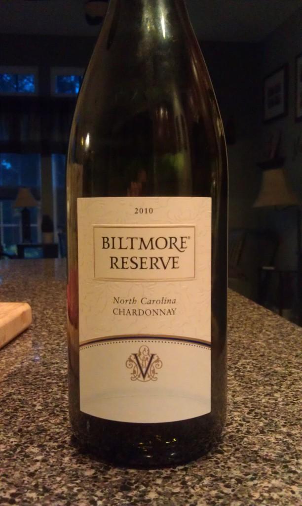 2010 Biltmore Reserve Chardonnay