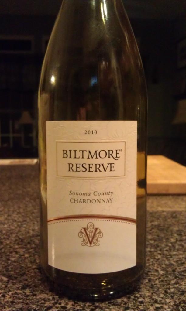2010 Biltmore Reserve Chardonnay Sonoma County
