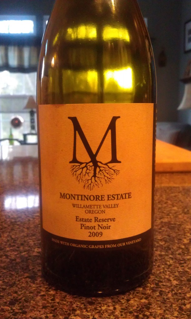 2009 Montinore Estate Reserve Pinot Noir
